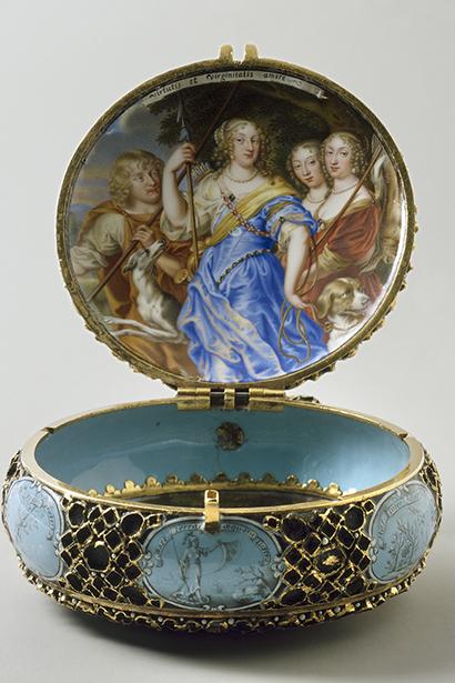 a84ce06814e4 Queen Kristina's clock, 1646 - Kungliga slotten