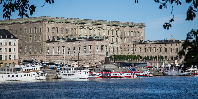 Mot Kungliga slottet! | Innebandyfrun
